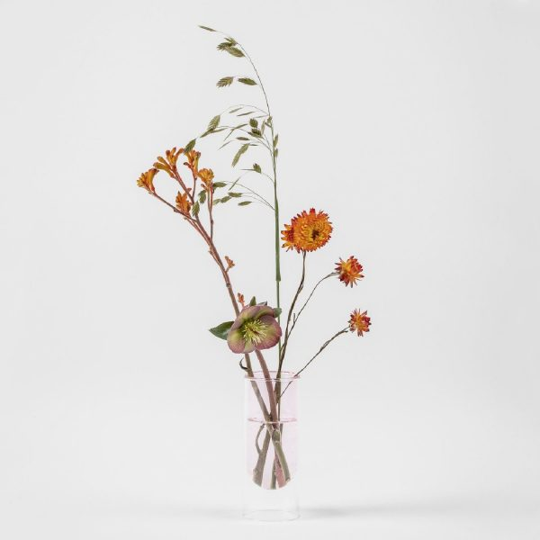Flower Tube Low Tube Rose | Studio About
