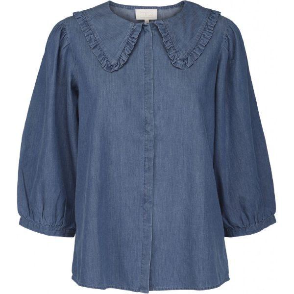 Fenia Shirt Dark Denim | Minus