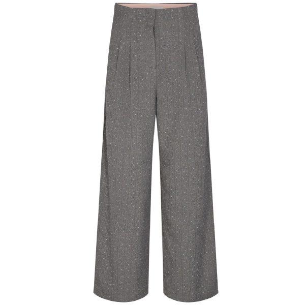 Nubjorg Pants Medium Grey Mel | NÜMPH