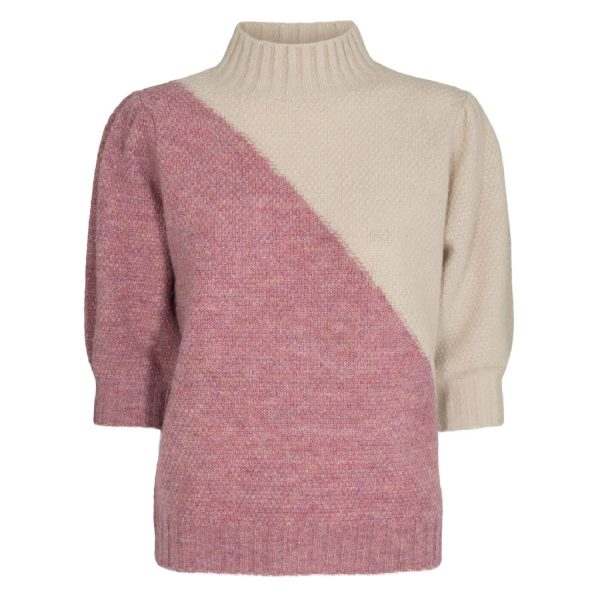 Nucalypso Pullover SS Chalk Pink | NÜMPH